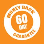 Teardrop Pillow 60 day money back guarantee